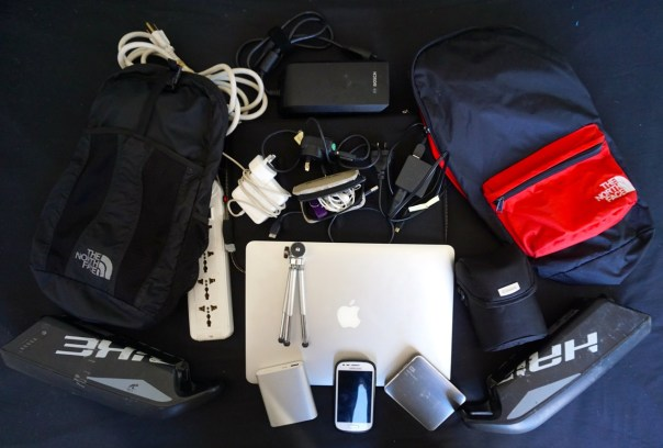 IT Equipent for the Cycle Trip