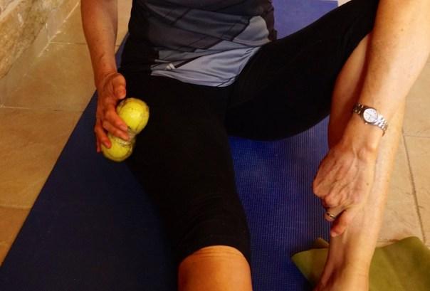 Tennis Ball Exercise