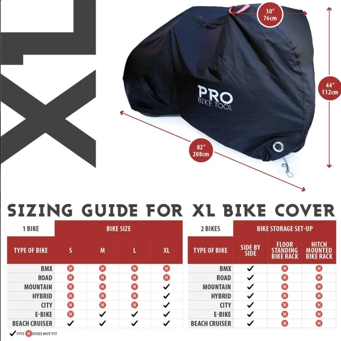 Ebike Cover XL