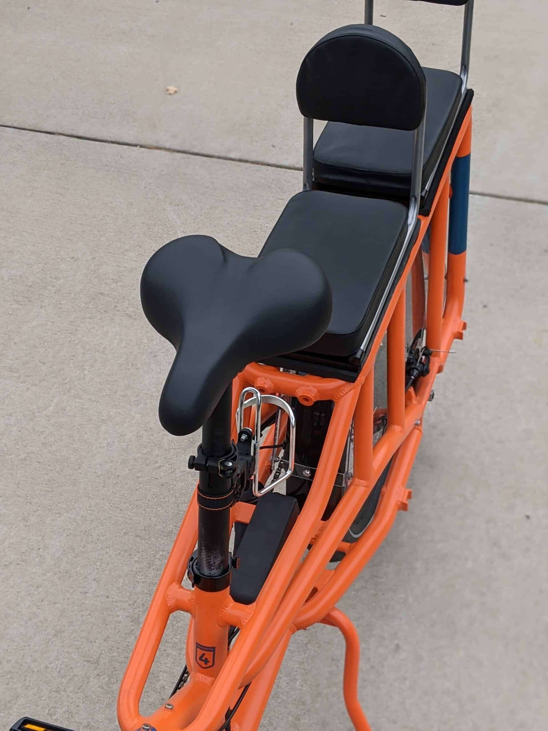 RadWagon 4 Custom seats