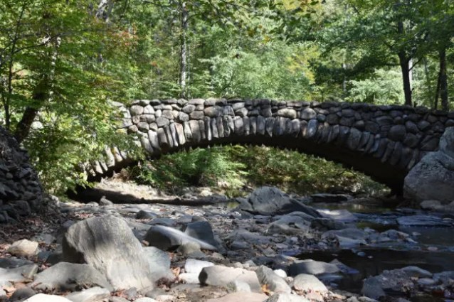 Boulder Bridge in Rock Creek Park E-bike Lovers