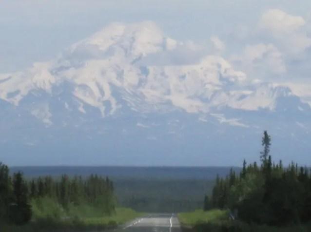 Mount Sanford in Alaska