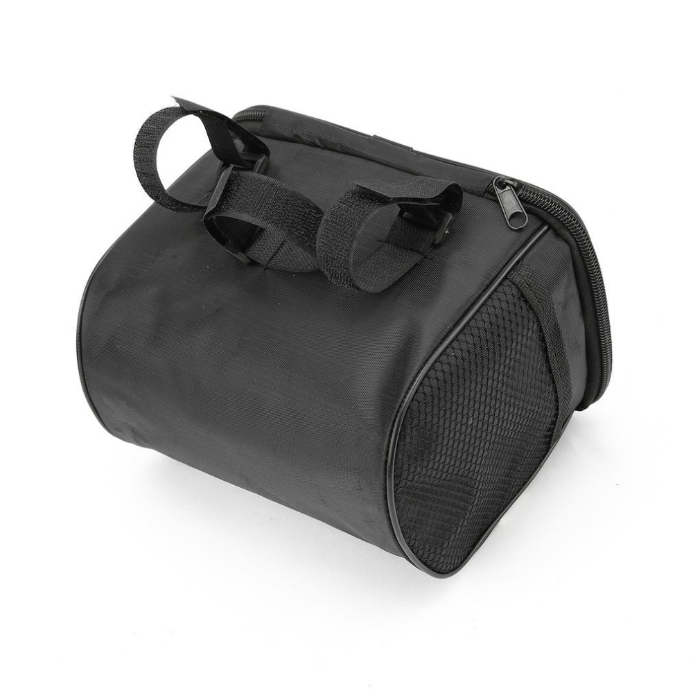 Hot 20 Inch Large Bicycle Bags Capacity Polyester Bike Bicycle Front Basket Durable Waterproof Tube Handlebar Bag Outdoor Sport