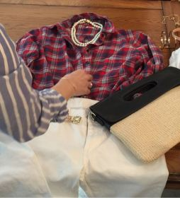 スタイリスト山本あきこさんのスタイリング講座レポその2 シャツの着こなし方。