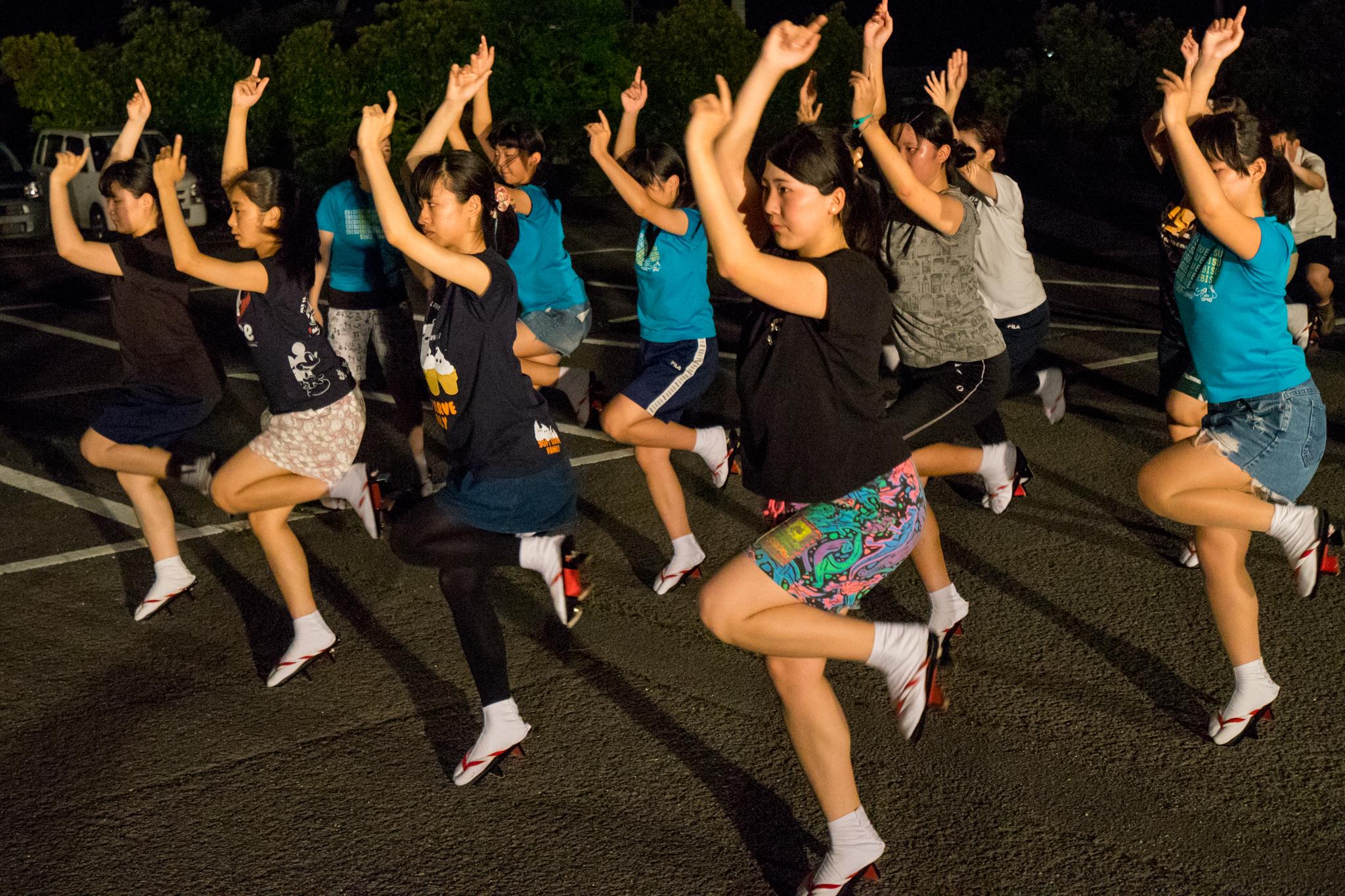 徳島 阿波おどり ゑびす連 練習