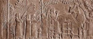 Assyrian banquet