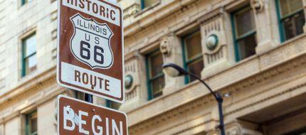 Route 66 nối liền miền Đông với miền viễn Tây Mỹ.
