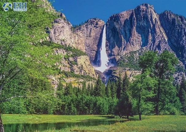 Thác nước Yosemite tại Mỹ