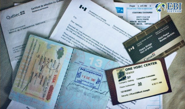 Chuẩn bị giấy tờ để du học Canada