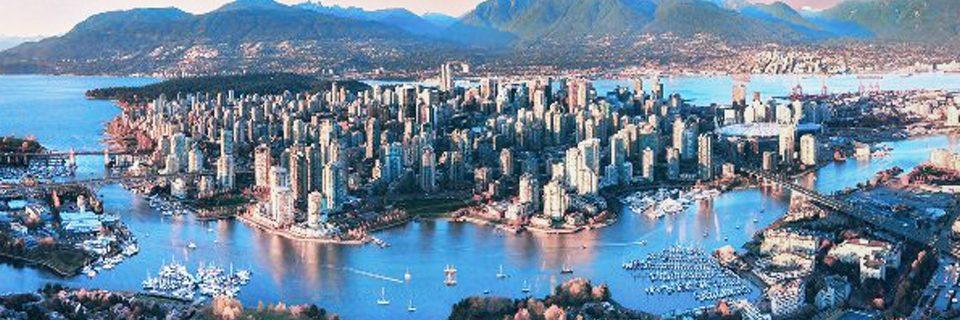 Top 5 thành phố tại Canada