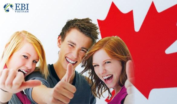 xin visa du học Canada dễ dàng hơn với EBI