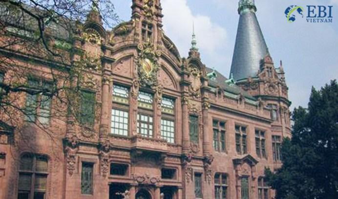 Đại học Heidelberg cổ kính tại Đức
