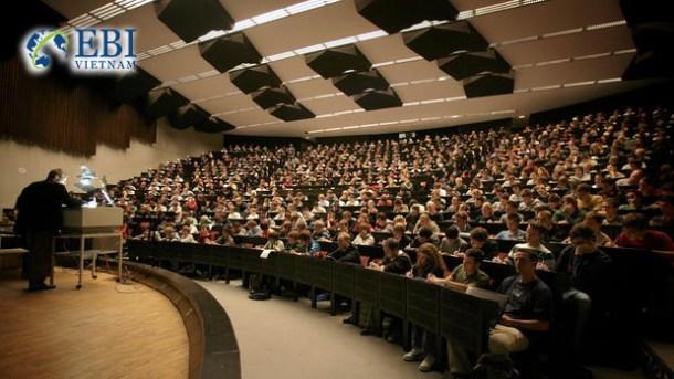 Giờ lên lớp tại đại học tổng hợp Mannheim