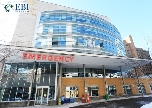 Bệnh viện Ontario tại Canada.
