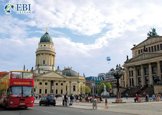 Thành phố Berlin tại Đức.