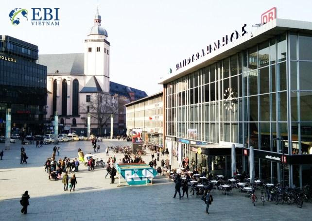 Thành phố Koln tại Đức.