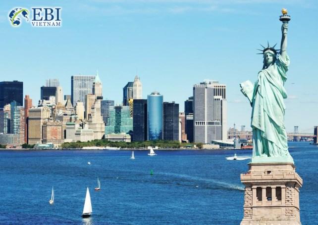 Du học Mỹ tại New York.