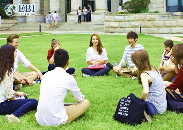 Sinh viên du học tại Đức.