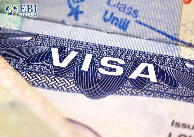 Visa du học Mỹ.