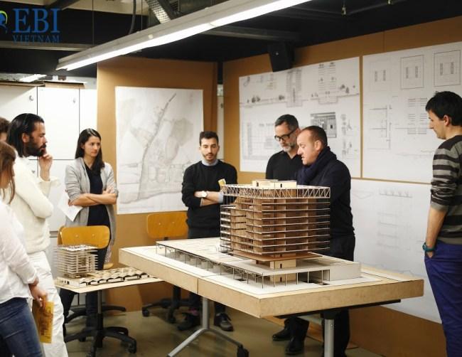 Du học ngành kiến trúc