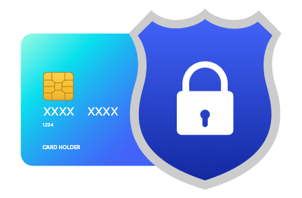 security shield and card