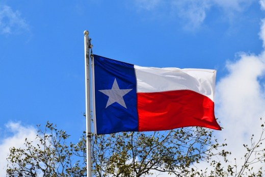 Texas Flag in DFW for Dallas Construction Lawyer