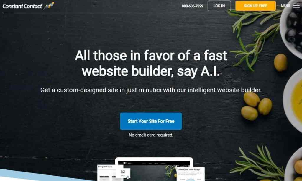 Best Website Builder Constant Connect