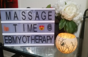 EBMYOTHERAPY  (ELICIA BRENNAN ) – MOTIVATION FOR AFTER EASTER, MASSAGE TIME