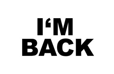 I am back!!!! Only starting back slowly