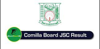 Comilla Board JSC Result 2018
