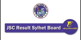 JSC Result 2018 Sylhet Board