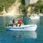 paleokastritsa rent a boat