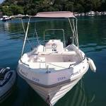 amore 2 rent a boat in paxos