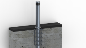 Stainless Steel Deep Fixed Bollard