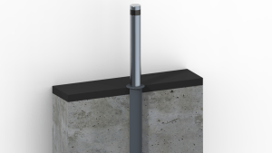 Stainless Steel Manual Retractable Bollard