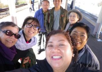 Asuka and Ota san toured us around Tokyo before the 16th JBF.