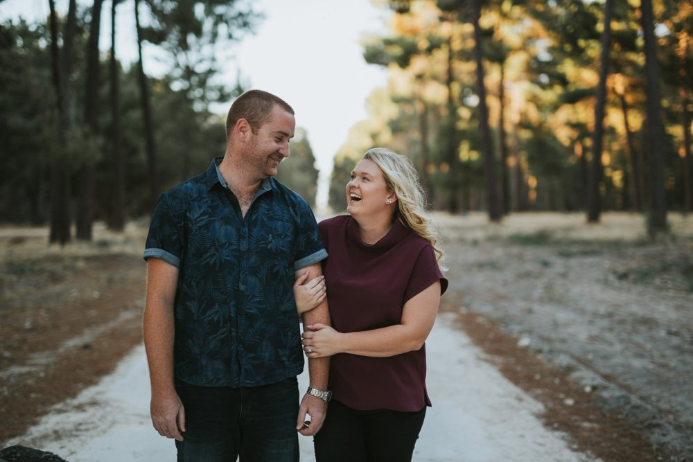 Perth Wedding Photographer | Pines Forrest Engagment | Ebony Blush Photography | Corry + Reece | Pre Wedding106