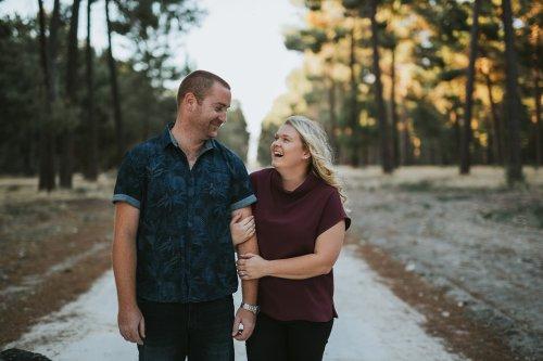 Perth Wedding Photographer | Pines Forrest Engagment | Ebony Blush Photography | Corry + Reece | Pre Wedding106