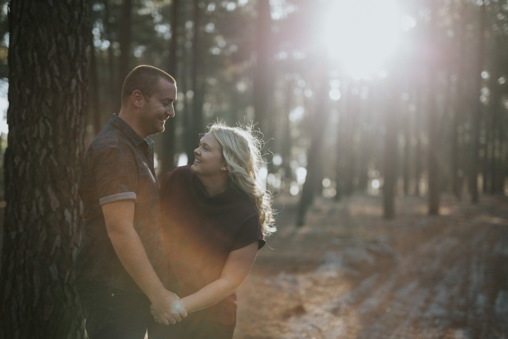 Perth Wedding Photographer | Pines Forrest Engagment | Ebony Blush Photography | Corry + Reece | Pre Wedding12