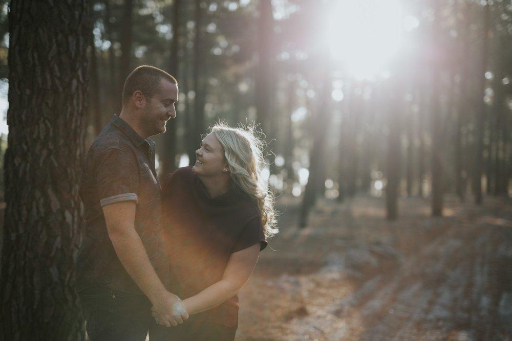 Perth Wedding Photographer | Pines Forrest Engagment | Ebony Blush Photography | Corry + Reece | Pre Wedding12