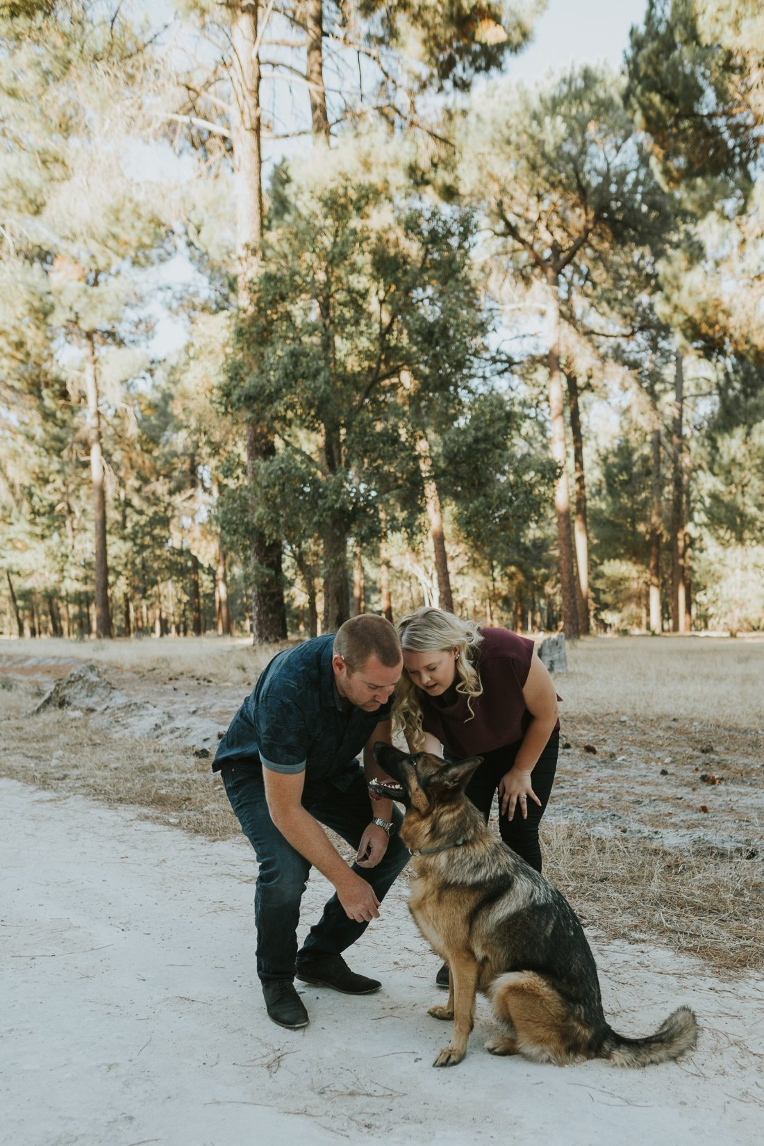 Perth Wedding Photographer | Pines Forrest Engagment | Ebony Blush Photography | Corry + Reece | Pre Wedding144