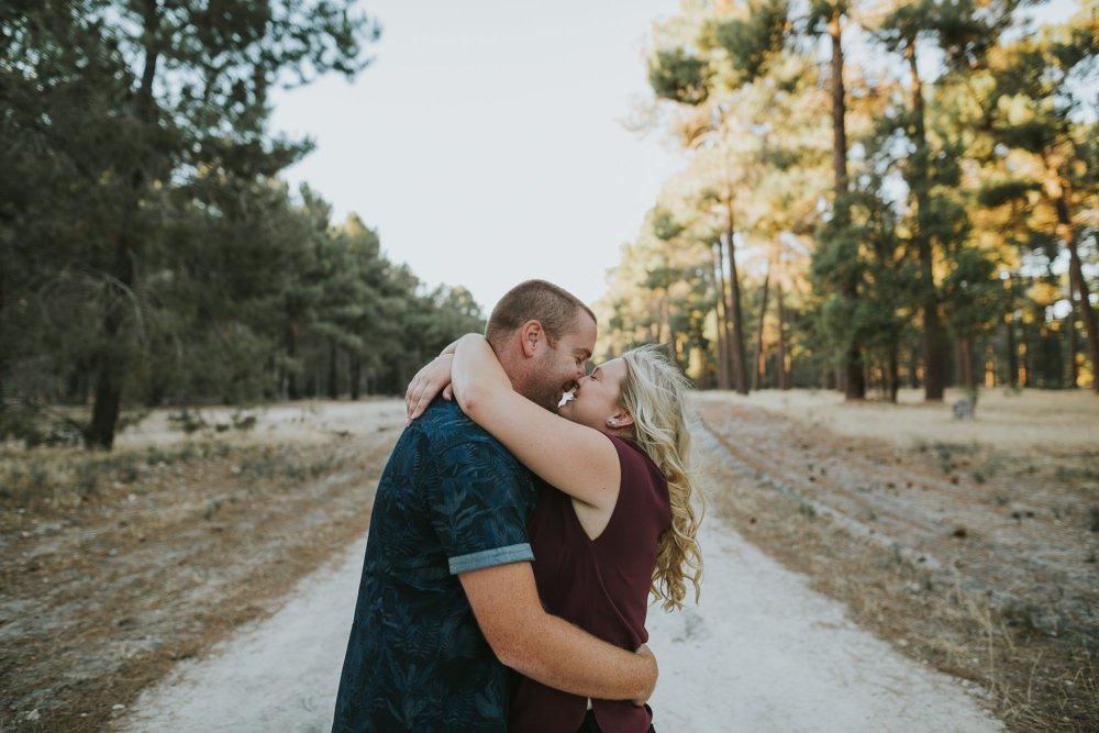 Perth Wedding Photographer | Pines Forrest Engagment | Ebony Blush Photography | Corry + Reece | Pre Wedding284