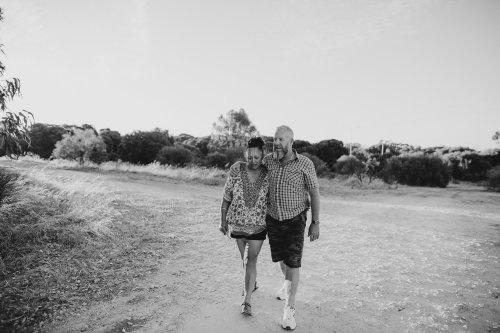 Ebony Blush Photography | Perth Wedding Photographer Donna + David | Ebony Blush | Rockingham Salt Lakes Couples Photos