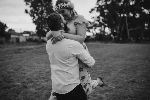 Rockingham Engagement Photography   Bek + Owen   Ebony Blush Photography