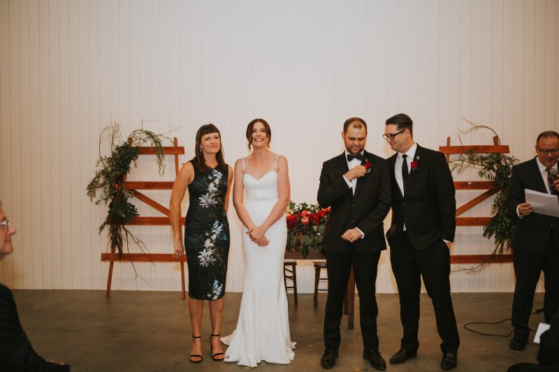 Old Pickle Factory Wedding | Perth Wedding Photographer | Night Wedding Perth | Ebony Blush Photography | Zoe Theiadore | C+T65