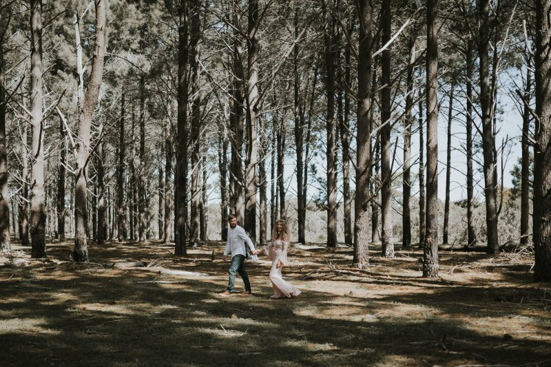 Sinéad + Shane | Pines Forrest Elopement | Ebony Blush Photography | Perth Wedding Photographer35