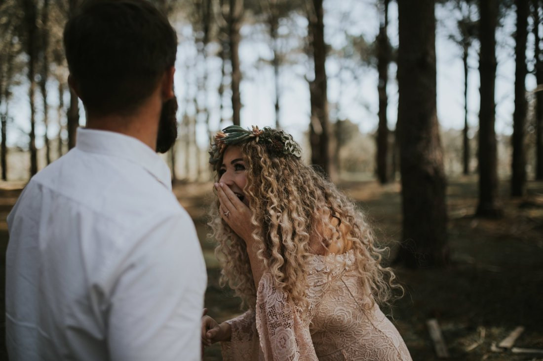Sinéad + Shane | Pines Forrest Elopement | Ebony Blush Photography | Perth Wedding Photographer37