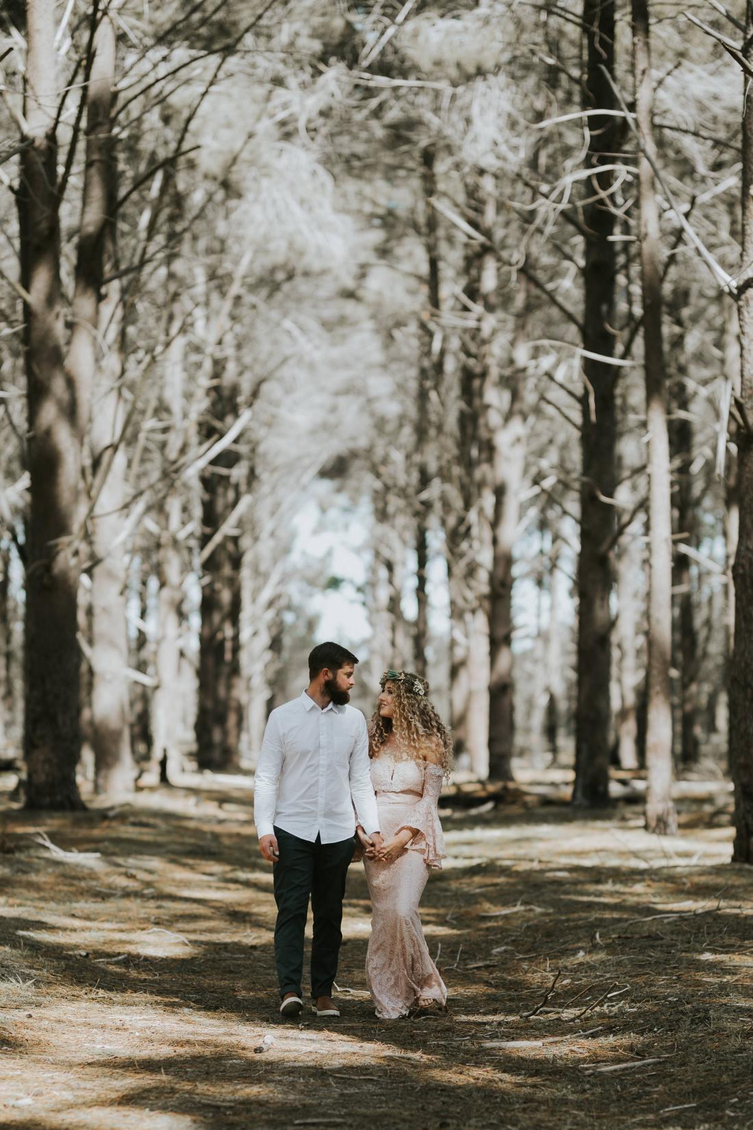 Sinéad + Shane | Pines Forrest Elopement | Ebony Blush Photography | Perth Wedding Photographer62