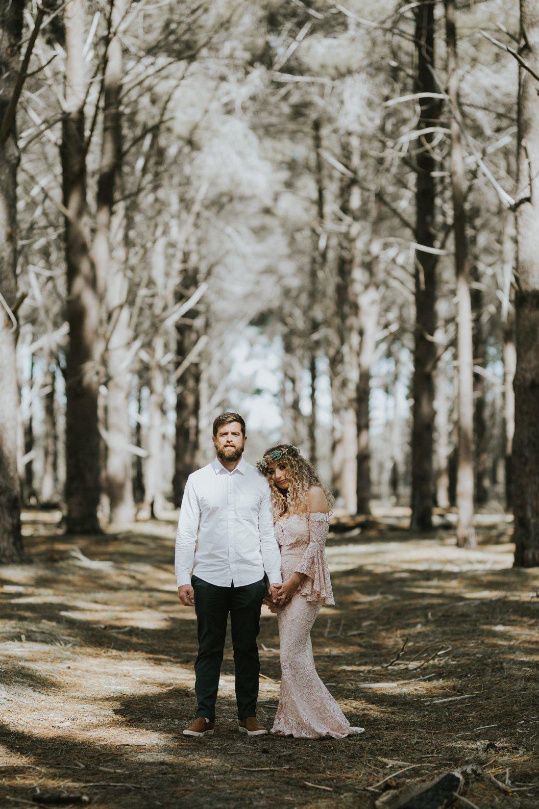 Sinéad + Shane | Pines Forrest Elopement | Ebony Blush Photography | Perth Wedding Photographer64