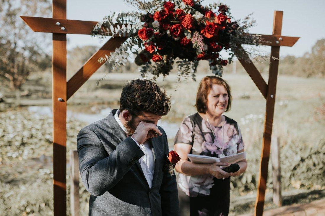 Chapel Farm Wedding Photos | Perth Wedding Photographer | Ebony Blush Photography | Brett + Blythe | 19